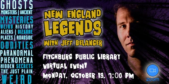 Jeff Belanger Virtual Event