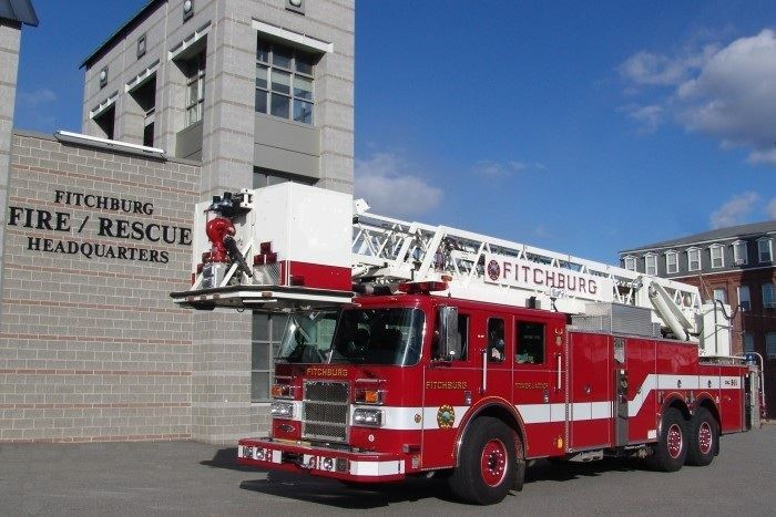 The Ladder 2 Reserve Truck is a 2003 Pierce with an 85 foot Aerial Tower.